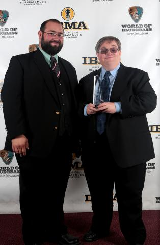 Michael Cleveland & Flamekeeper Win Two IBMA Awards!